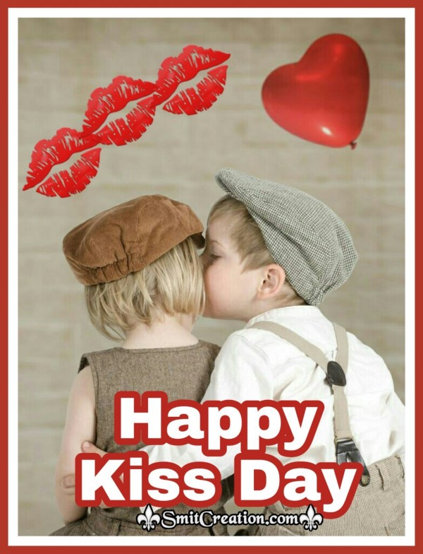 Happy Kiss Day Beautiful Image