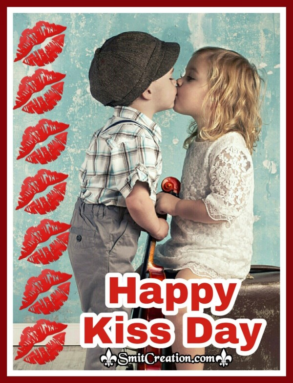 Happy Kiss Day Whatsapp Image