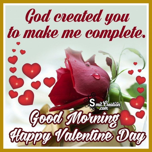 Good Morning Happy Valentine Day Quote