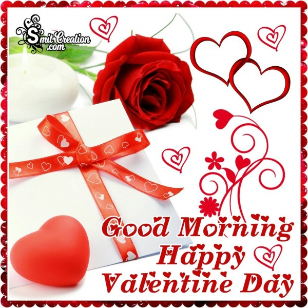 Good Morning Happy Valentine Day Gift Card