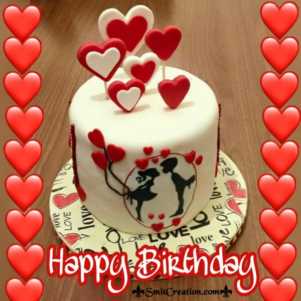Happy Birthday Cake With Love
