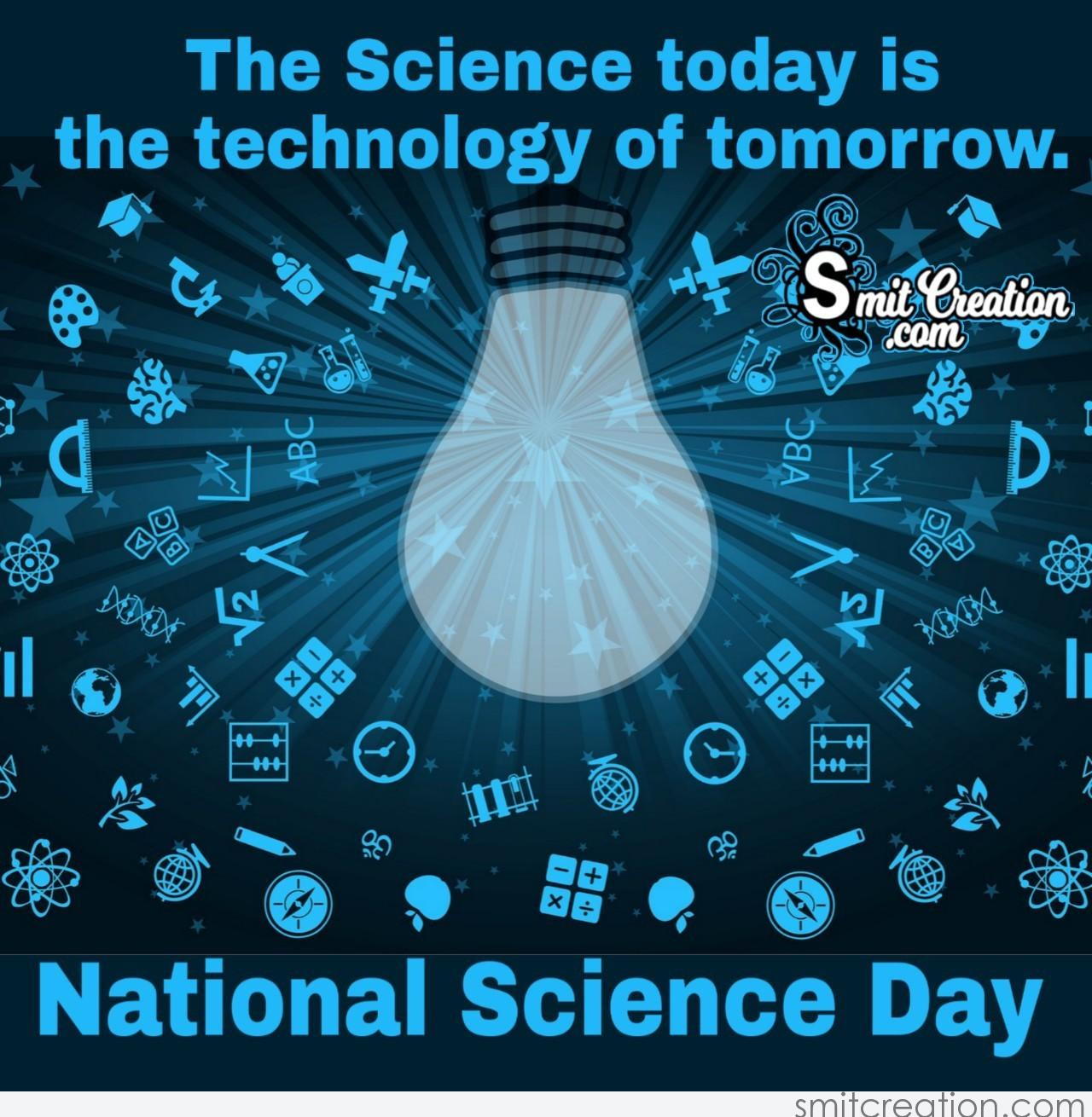 national science day quote on technology com