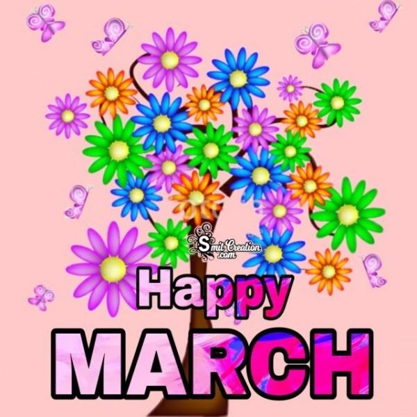 Happy March Spring