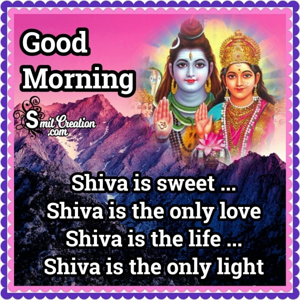 Shiv Shankar Good Morning