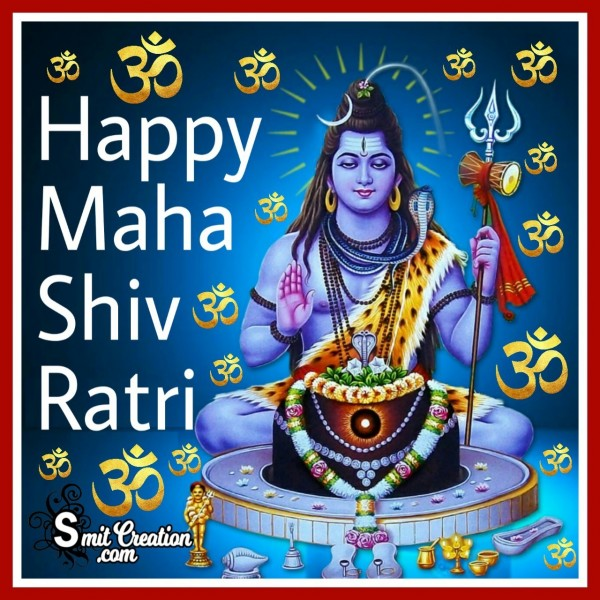 Happy Maha Shivratri God Shiva