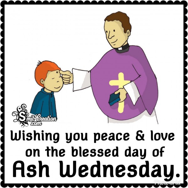 Wishing Ash Wednesday!