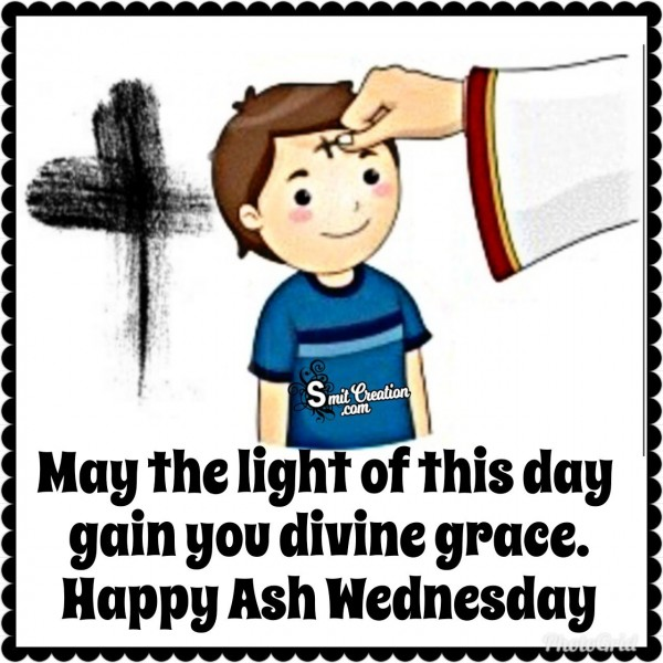 Happy Ash Wednesday Wishes