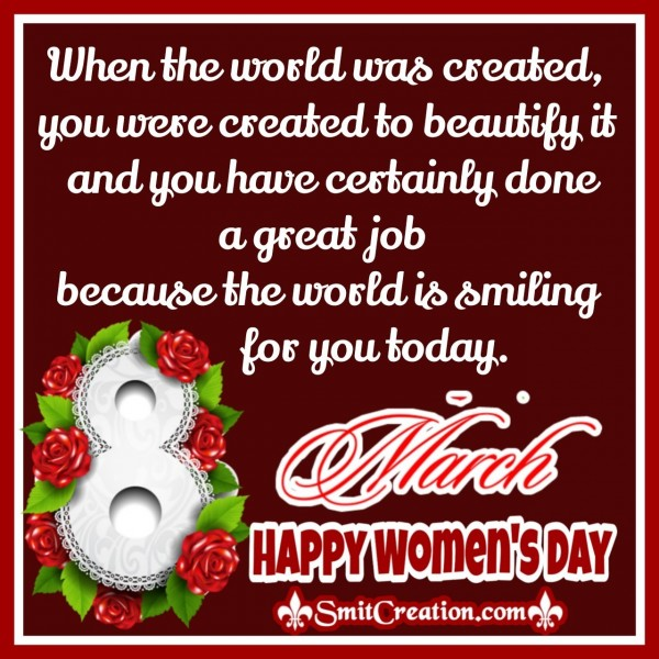 Happy Women's Day Wishes Greeting