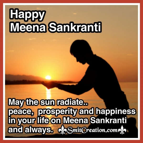 Meena Sankranti Best Wishes
