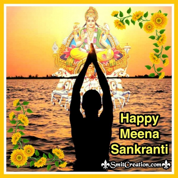 Happy Meena Sankranti Card