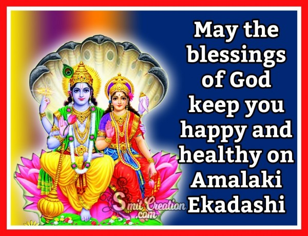 Happy Amalaki Ekadashi Blessings