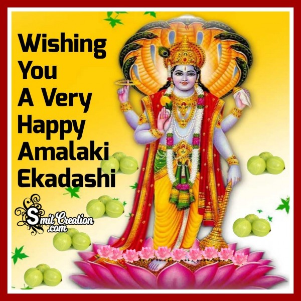 Wishing You A Very Happy Amalaki Ekadashi