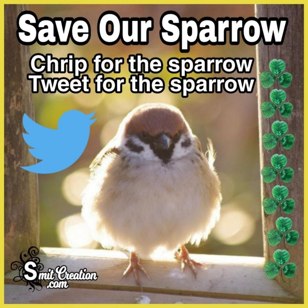 Save Our Sparrow