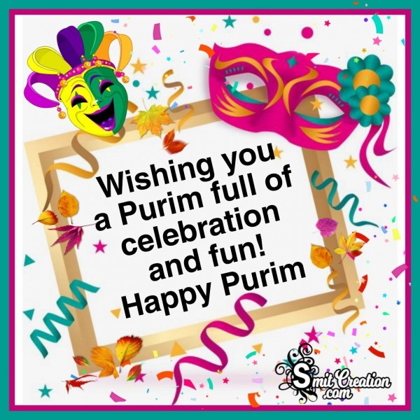 Wishing You A Purim