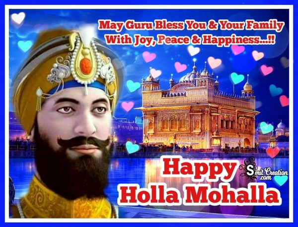 May God Bless You On Hola Mohalla