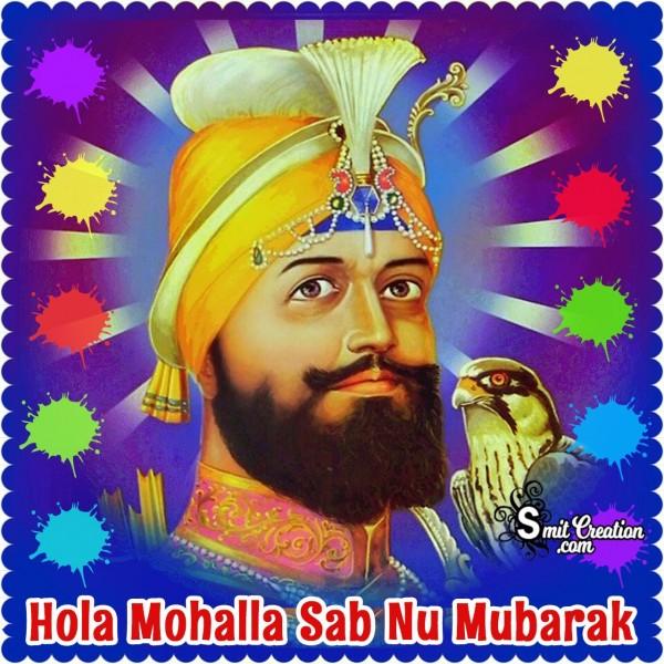 Hola Mohalla Sab Nu Mubarak