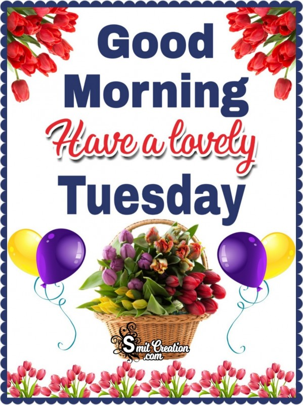 Good Morning Have A Lovely Tuesday