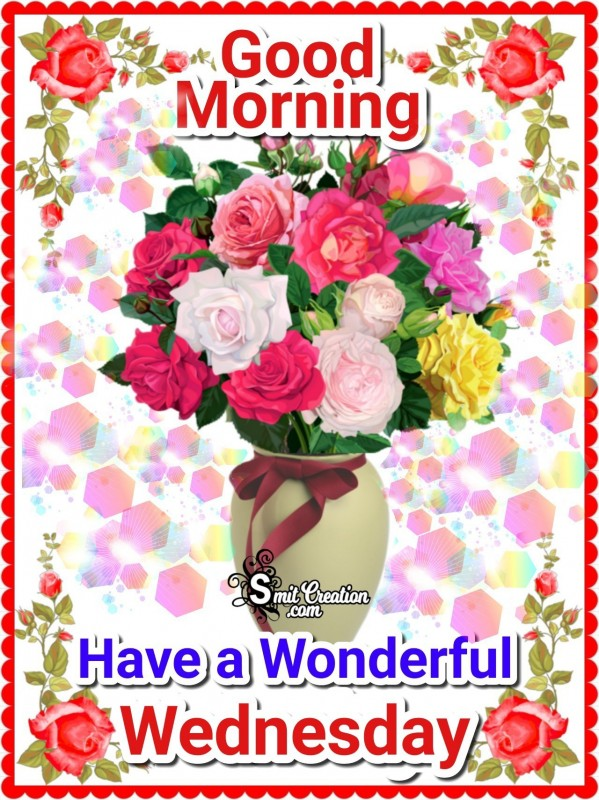 Good Morning Wonderful Wednesday Card