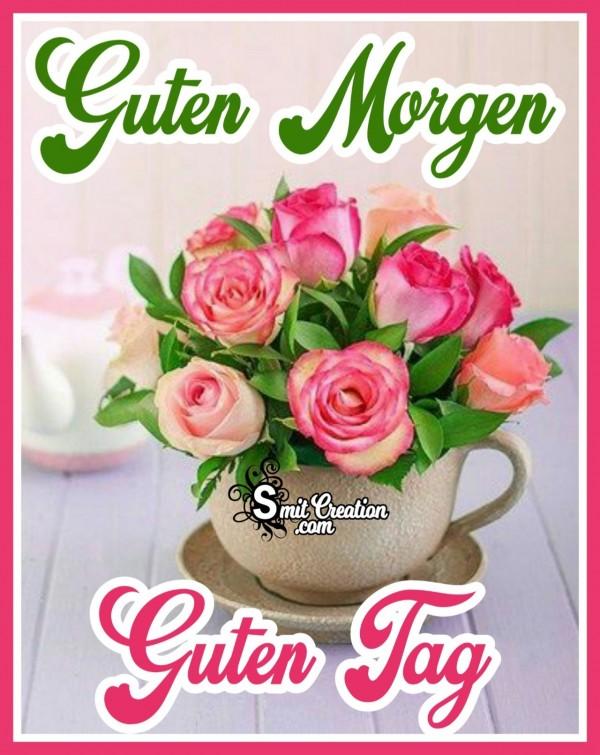 Guten Morgen Blumen