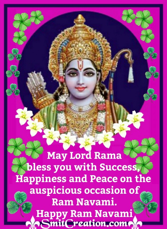 Happy Ram Navami Blessings