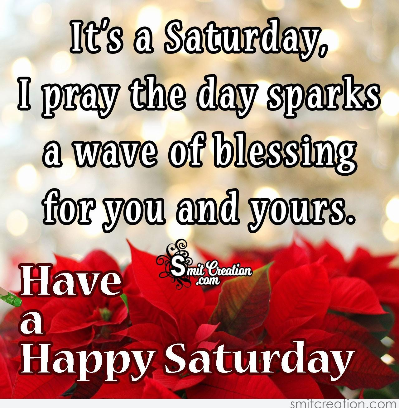 Saturday Prayer Blessing Images