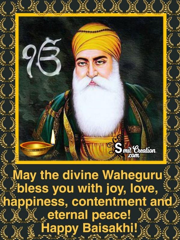 Waheguru Bless You On Vaisakhi