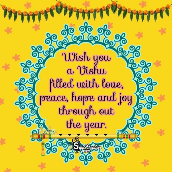 Wish You A Vishu