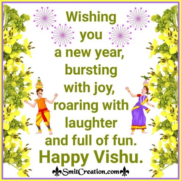 Happy Vishu Wishes Image
