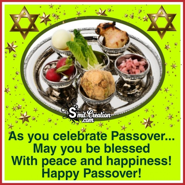 Happy Passover Blessings