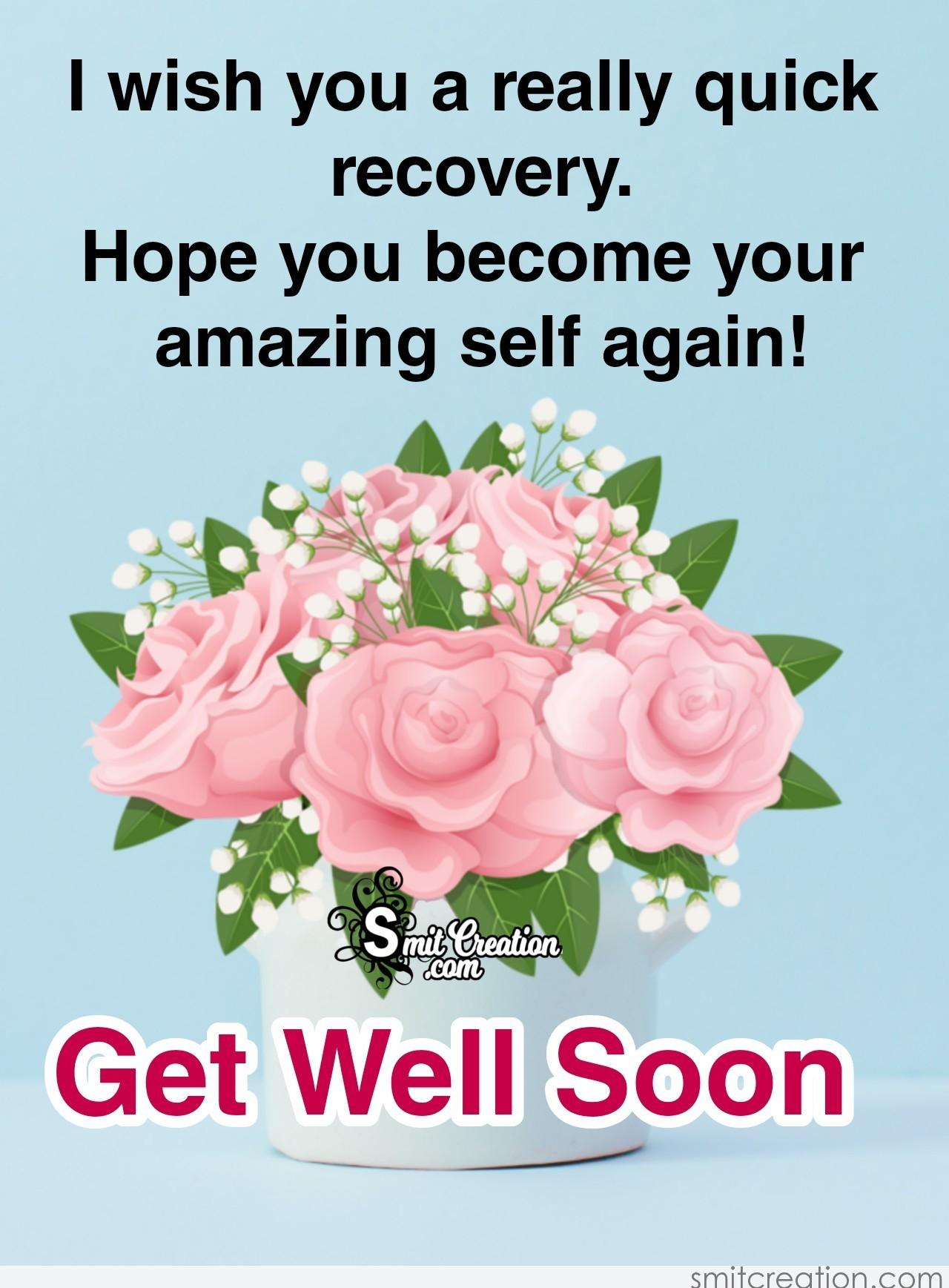 Get Well Soon Recovery Message - SmitCreation.com