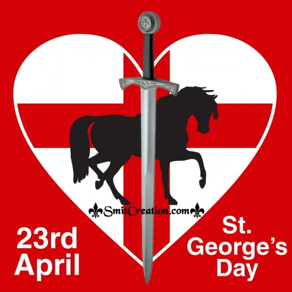 23rd April  St. George's Day