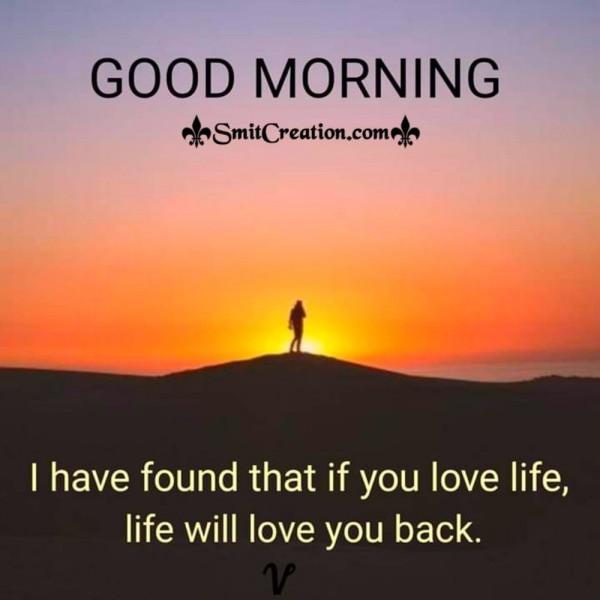 Good Morning Love Life