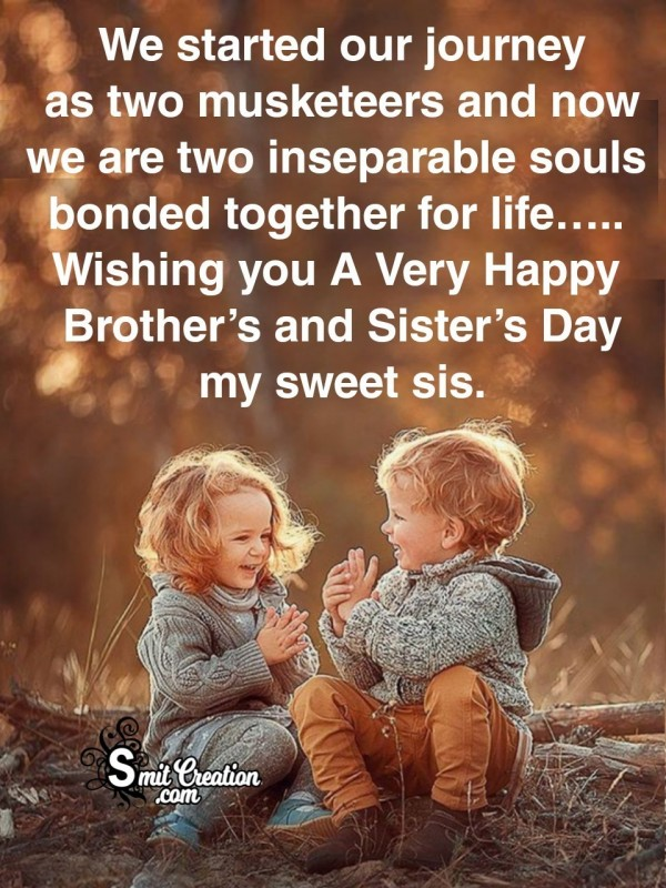Happy Brothers Sisters Day