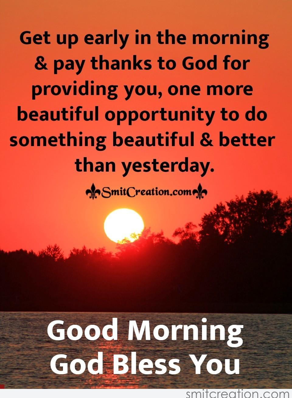 Good Morning Pay Thanks To God Smitcreation Com