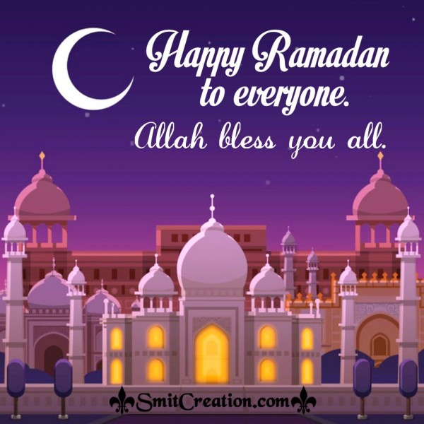 Happy Ramadan To Everyone