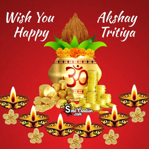 Happy Akshay Tritiya Image For Dp