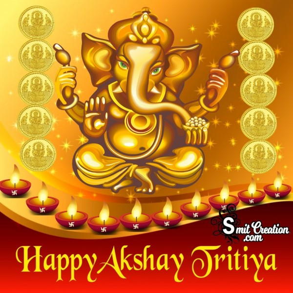 Happy Akshay Tritiya Ganesha Photo