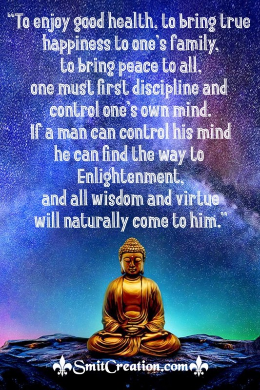 Buddha Quote To Control Mind