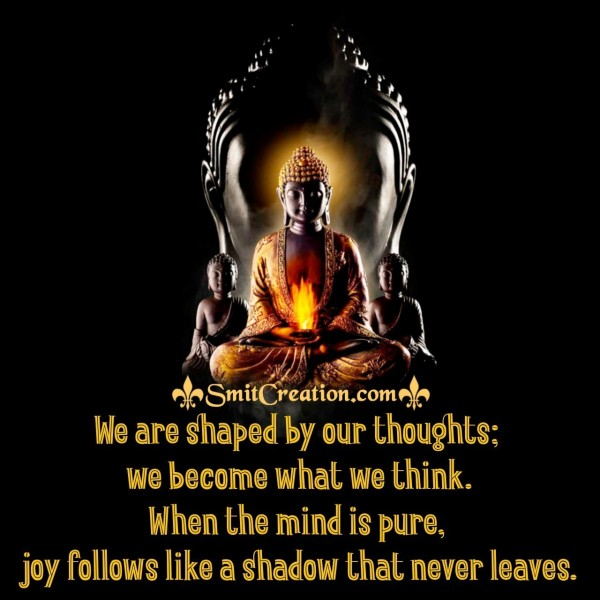 Buddha Quote On Our Thoughts