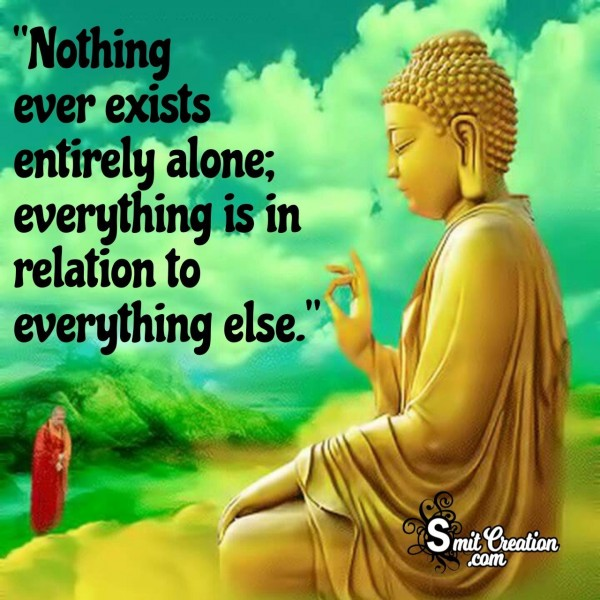 Buddha Quote On Relation