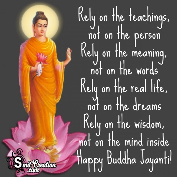 Buddha Jayanti Teaching Message