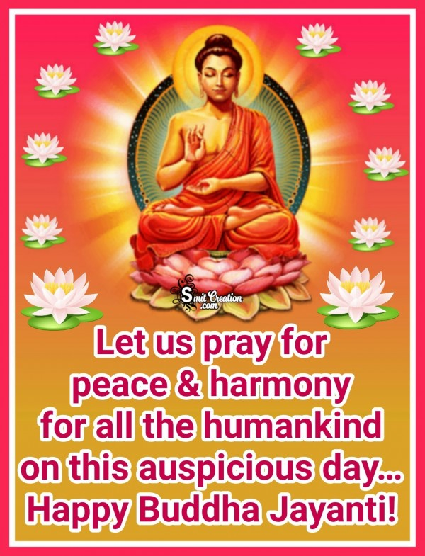 Buddha Jayanti Wishes For All Mankind