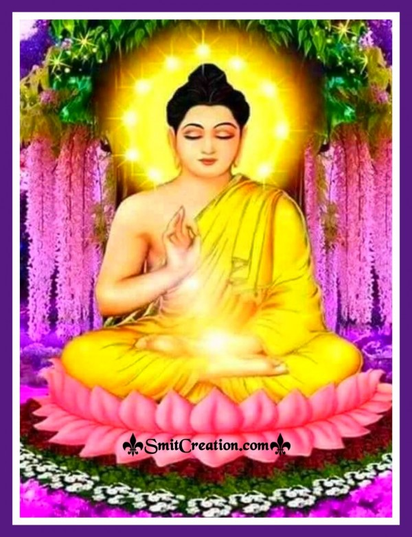 Lord Buddha In Garden