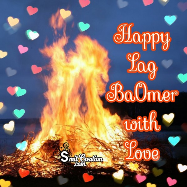 Lag Baomer Wishes With Love