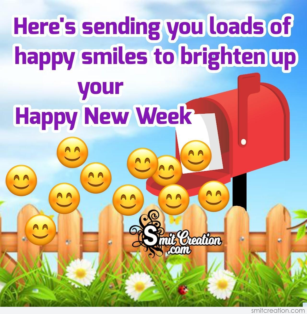 New Week Quotes Wishes Pictures and Graphics - SmitCreation.com
