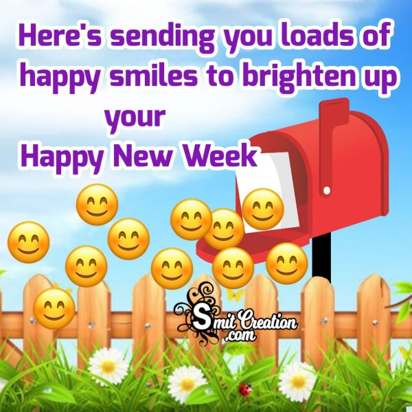 Sending Smiles To Brighten Up New Week