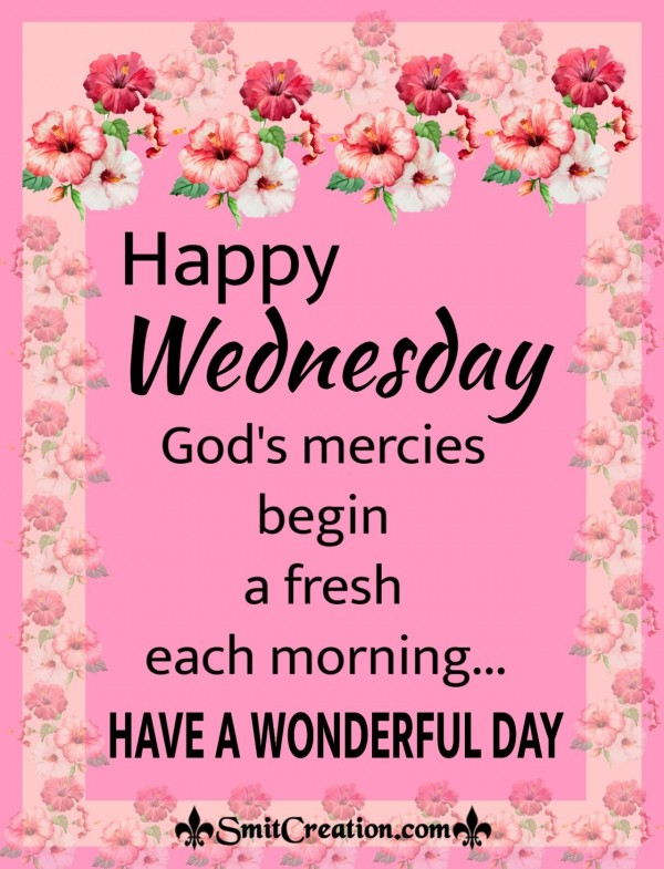 Happy Wonderful Wednesday