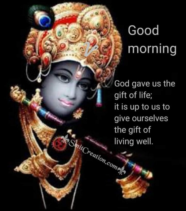 Krishna Good Morning