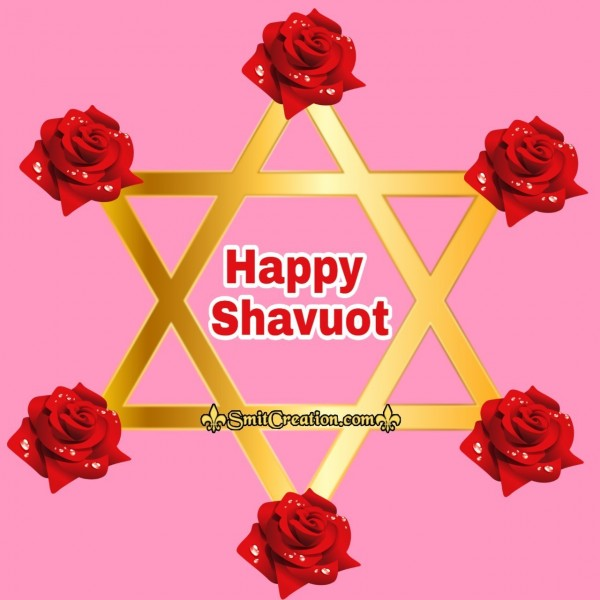 Happy Shavuot Floral Card