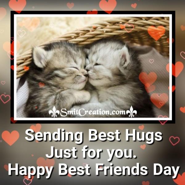 Best Hugs On Best Friends Day